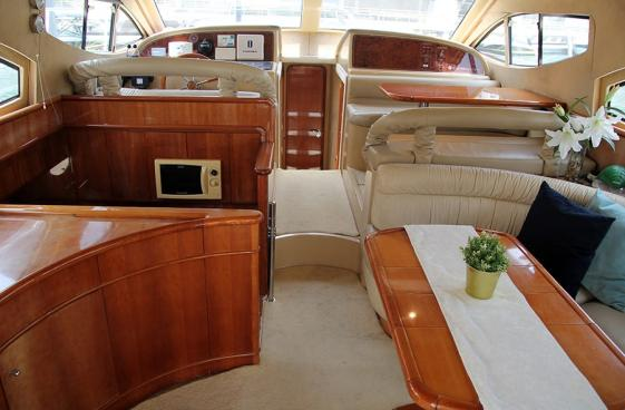Luxury Yacht Saloon